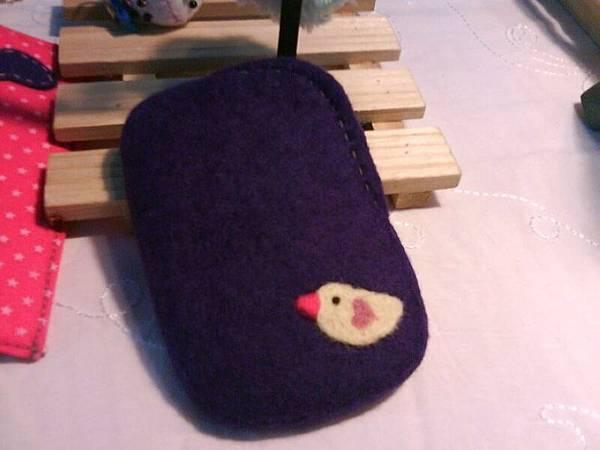 小鳥兒(紫色底)手機袋NT450~600(依大小).jpg