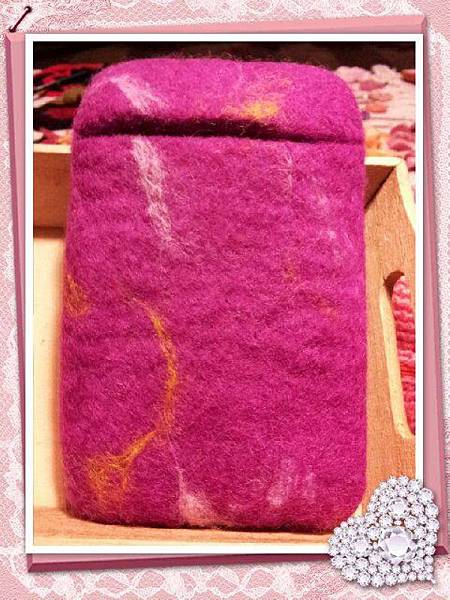 桃紅混色羊毛氈手機袋NT450~600(依大小).jpg