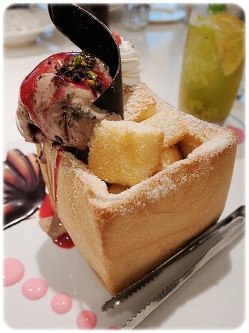 2010-11-08_Dazzling Cafe蜜糖吐司