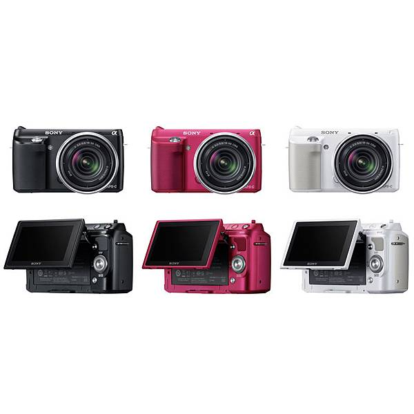 Sony-Nex-F3K-APSC-Compact-System-Camera-available-colors-black-pink-and-silver
