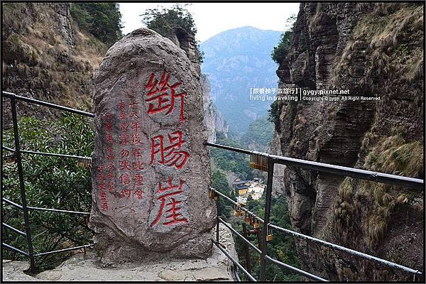 雁蕩山小龍湫瀑布頂斷腸崖,神雕俠侶拍攝景點.jpg
