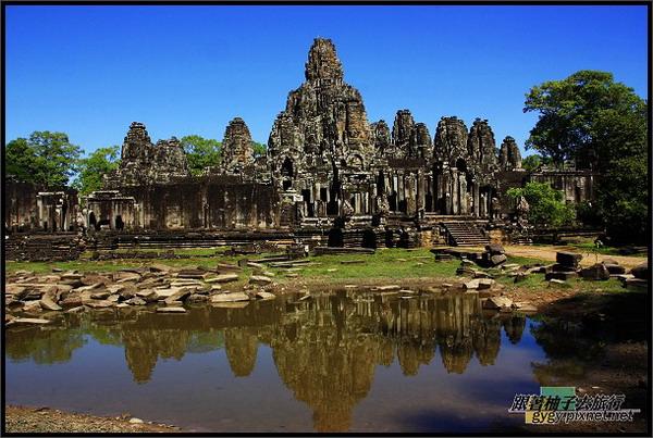 【大吳哥Angkor Thom 】倒影.jpg