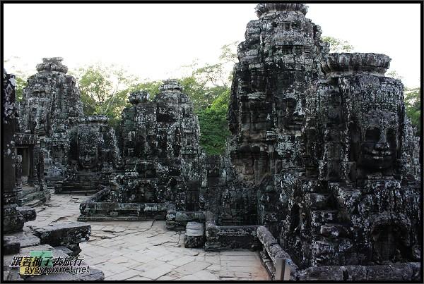 【大吳哥Angkor Thom 】最上層.jpg