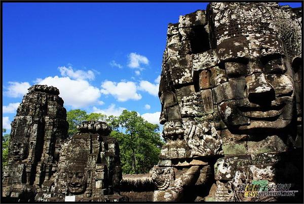 【大吳哥Angkor Thom 】微笑佛陀.jpg