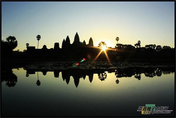 【小吳哥Angkor Wat 】日出.jpg