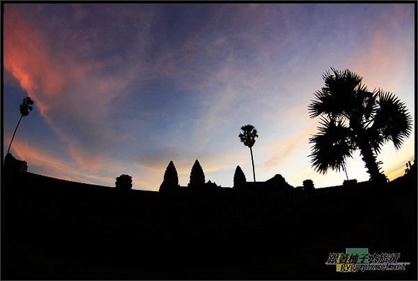 【小吳哥Angkor Wat 】黃昏倒影2.jpg