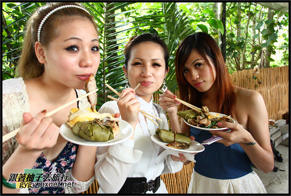 奇美風味餐與原住民美少女.jpg