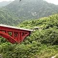 砂卡礑隧道前橋