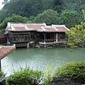蛇廊往水風軒、茶趣館