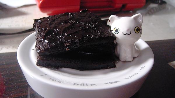 疑似布朗尼的巧克力蛋糕
