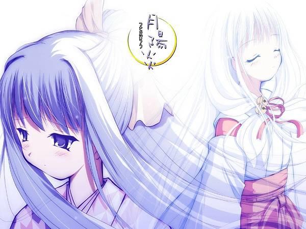 秋天-巫女-戀愛-月陽炎