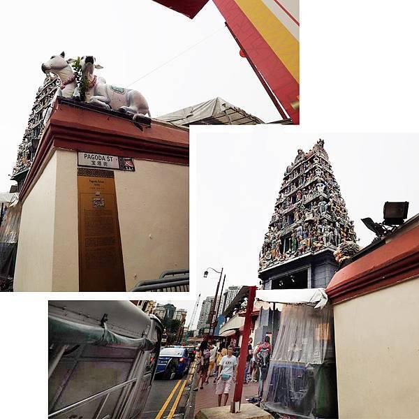 新加坡馬里安曼興都廟Sri Mariamman Temple