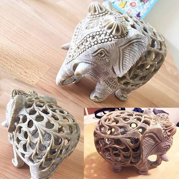 新加坡必買伴手禮分享大象雕刻