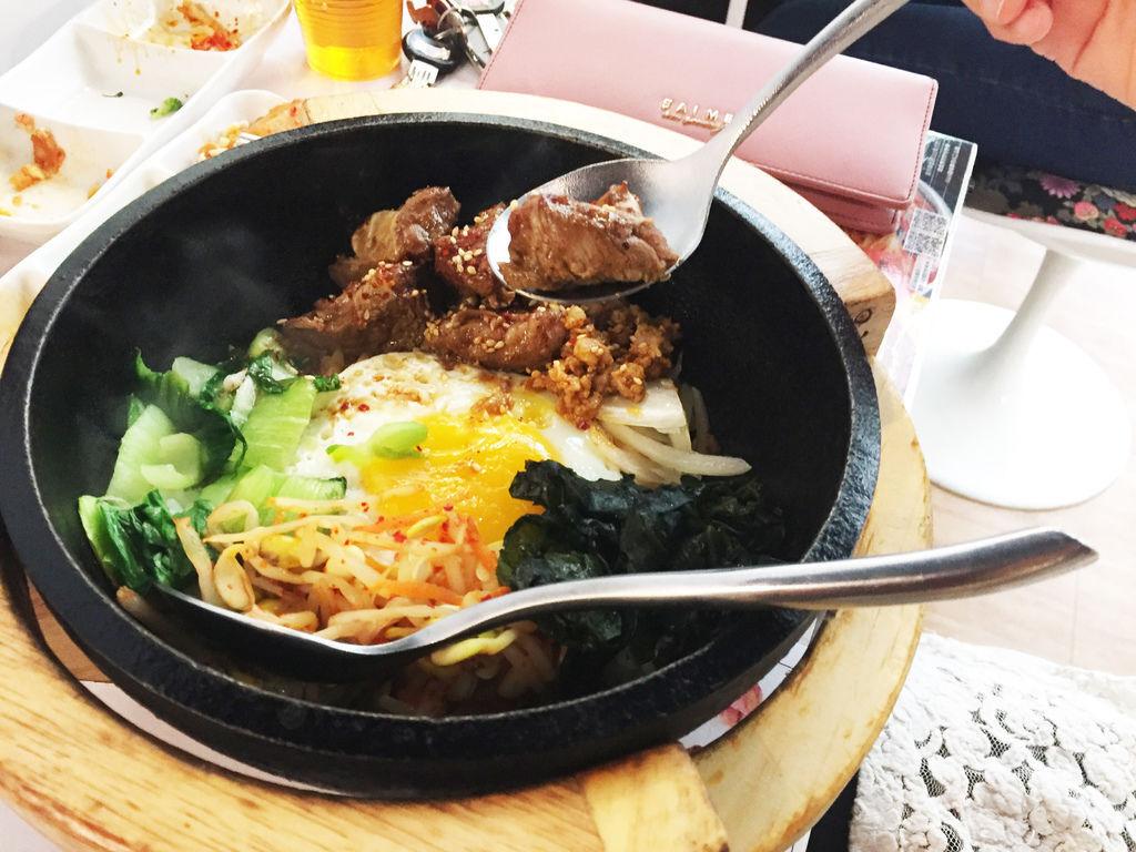 台中逢甲韓式料理誠實泡菜07