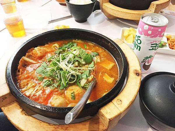 台中逢甲韓式料理誠實泡菜04