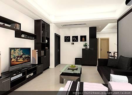 南崁 竹城上越 3房 系統傢俱 全室裝潢