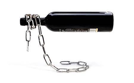 Chain鐵鍊紅酒放置架