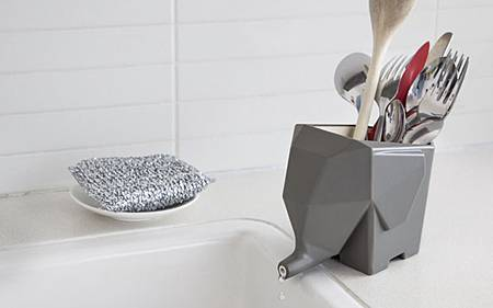 Jumbo大象瀝水餐具收納盒3