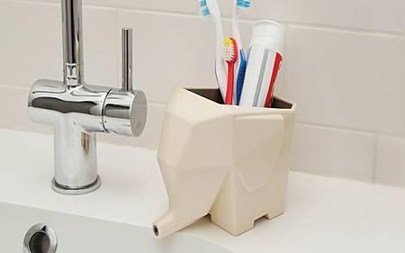 Jumbo大象瀝水餐具收納盒