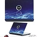 微星科技-筆電面版設計-深海藍