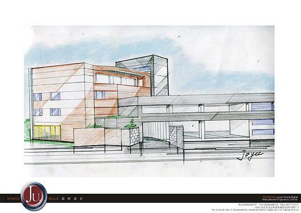 建築外觀草圖A
