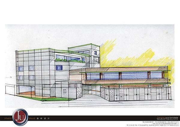 建築外觀草圖B