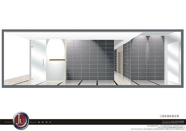 二層辦公室走道設計