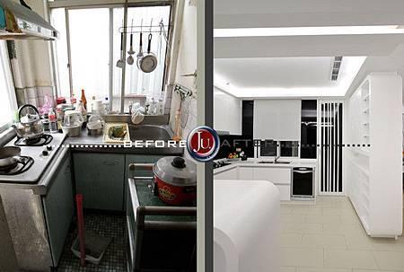 廚房設計前後1