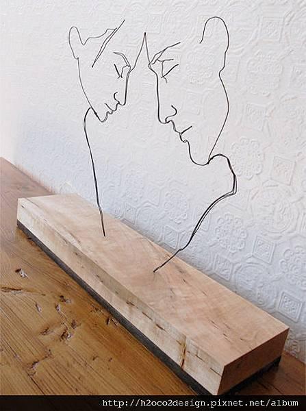 栩栩如生_神奇的鐵絲雕塑 @ H2o+Co2 光合作用設計有限公司 :: 痞客邦