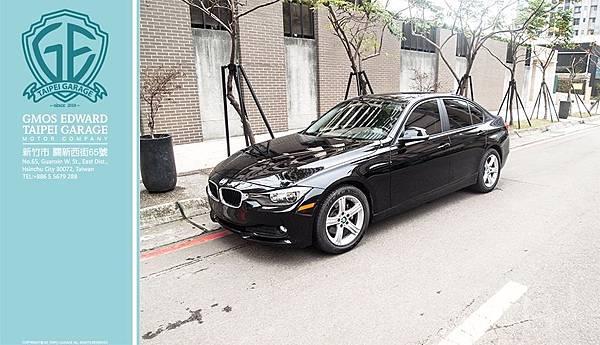 BMW 320i F30 黑 汎德