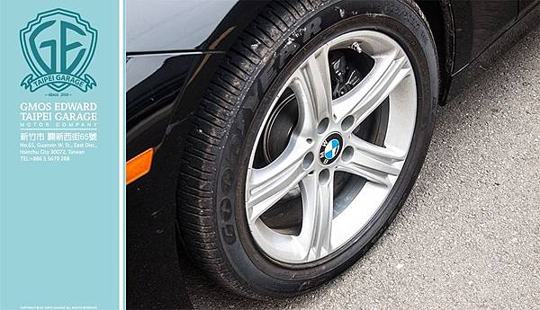 BMW 320i 黑 汎德