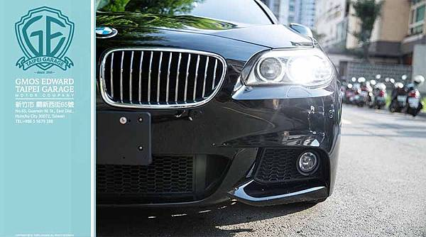 BMW 528i 黑 F10 汎德