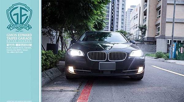 BMW 535i 黑 F10