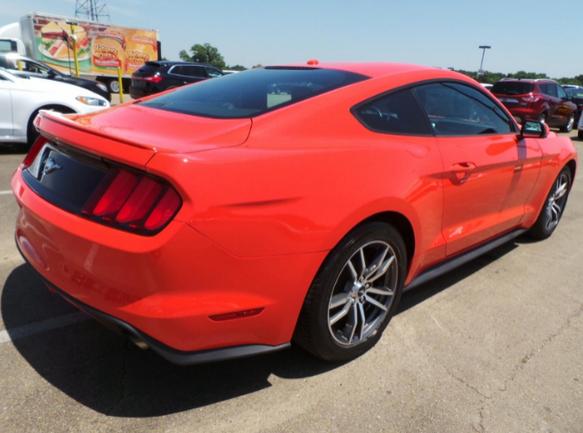 16年式福特野馬Ford Mustang
