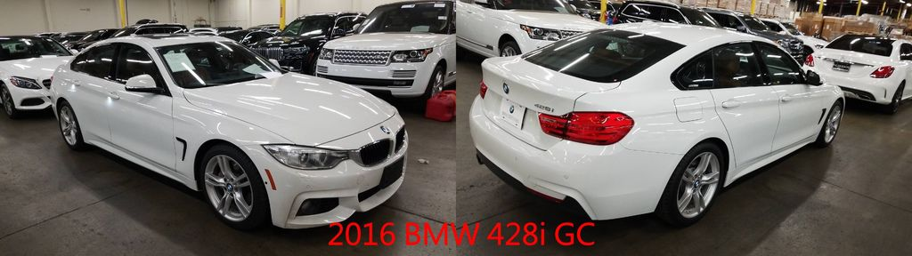 BMW 428i GC與4系列雙門跑車有相同的車長與車寬,不過車頂長度升加了112mm,有跑車運動流線型外,更顯得大器,軸距有2810mm,讓4門進出車輛的方便性提升不少外,也讓後座乘客乘坐的舒適度提高,並有更大的行李空間可以放置東西。