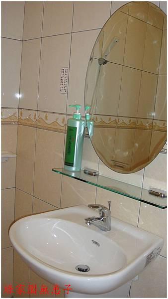 客房浴室實景