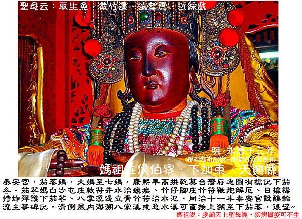 台南後壁下茄苳泰安宮 (2)