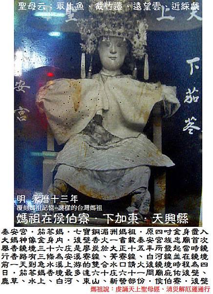 台南後壁下茄苳泰安宮 (3)