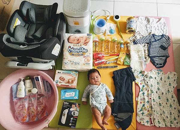 【寶寶開箱文】嬰兒版開箱-此貨物不能退換貨且無使用說明書