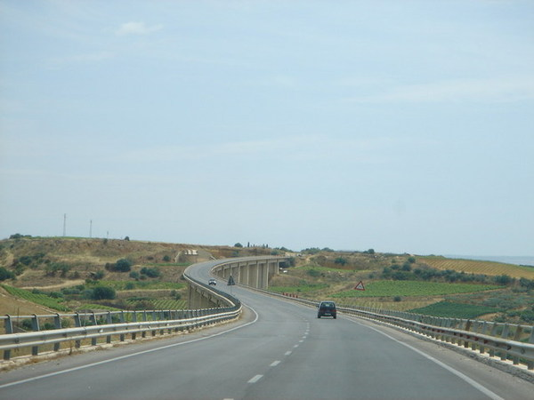 Sicily highway