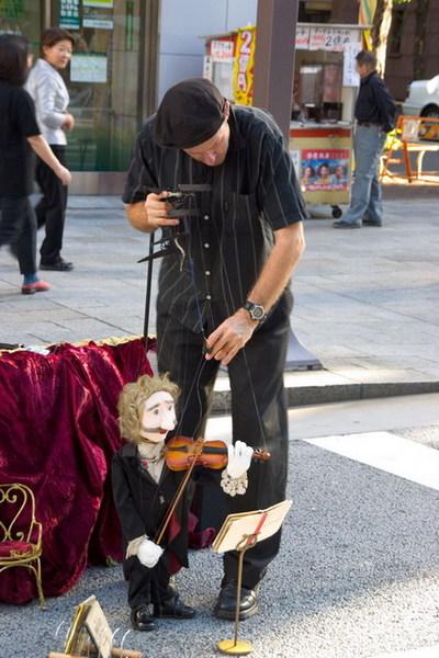 銀座街頭藝人