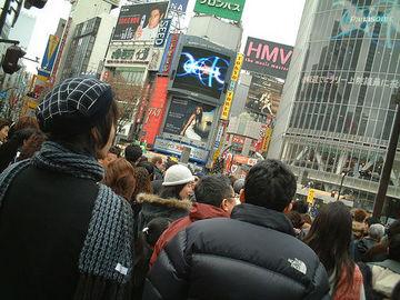 澀谷車站前