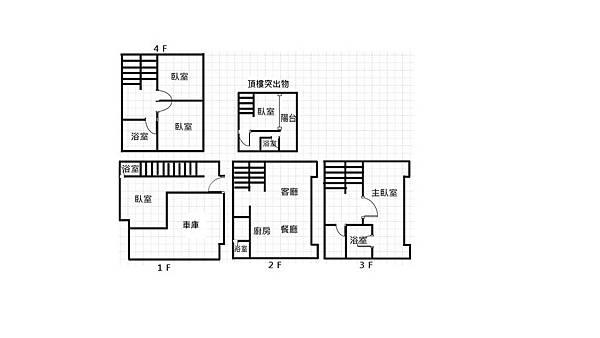 河堤幸福左右3車墅(2)(13號)格局圖