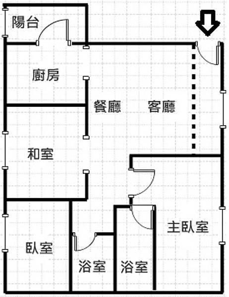 京典格局圖