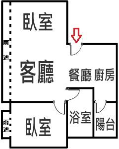 美術川14樓格局圖