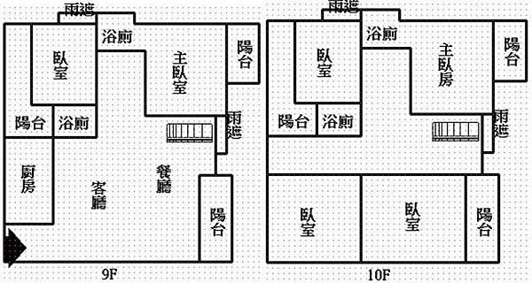 格局圖-9~10F