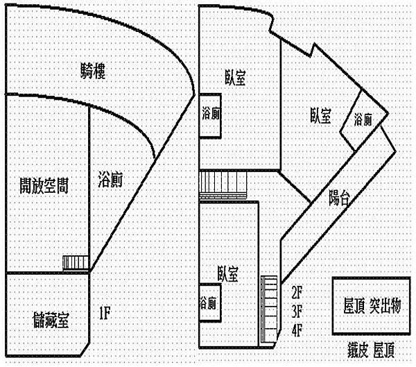 格局圖1-4F
