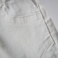 貼身窄腳牛仔褲(白) HKD219