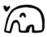 大象小方糖-空心