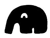 大象小方糖-實心